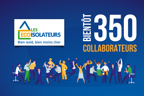 Bientôt 350 collaborateurs !